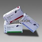 Latex Einweghandschuh weiß puderfrei 100 Stück/Box