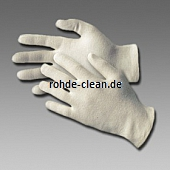 Baumwoll-Handschuh natur