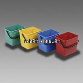 Kunststoffeimer 6 Liter  für Kunststoffwagen