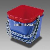 Kunststoffeimer 9 Liter für Kunststoffwagen