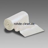 Abfallsack LDPE 16 Ltr. weiß 240+210x520mm 30my 1000 Stück