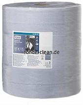 Tork Industrie Papierwischtücher blau 3-lg. Tissue Großrolle