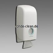 KC Aquarius Toilettenpapierspender für Einzelblatt weiß