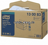 Tork Extra Starke Industrie Papierwischtücher blau 3-lg. TAD