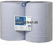 Tork Standard Papierwischtücher blau 2-lg. Tissue 2 Rollen