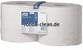 Tork Standard Papierwischtücher weiß 2-lg. Tissue 2 Rollen