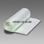 Abfallsack HDPE 30 Ltr. transparent 490x600mm 10my 2000 Stck