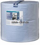 Tork Extra Starke Mehrzweck Papierwischtücher blau 2-lg. TAD