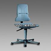 Bimos Arbeitsstuhl Sintec 1 Kunststoff mit Gleiter
