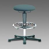 Bimos ESD-Hocker 2  Kunstleder mit Gleiter und Fußring
