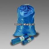 Abfallsack LDPE 120 Ltr. blau 700x1000mm 60my mit Zugband