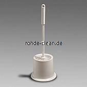 WC-Garnitur PVC Topfform weiß