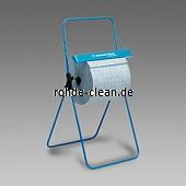 Kimberly-Clark Bodenständer für Großrollen Metall blau