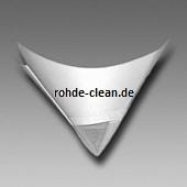 Metex Faltsieb F4000 weiß monofiles Perlon 210µ ungefaltet