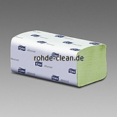 Tork Handtuch ZZ grün 2-lg. Tissue 25x23cm