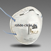 3M Atemschutzmaske 8822 FFP2 mit Ausatemventil