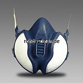 3M Atemschutzmaske 4255 FFA2P3D gegen Gase, Dämpfe, Partikel
