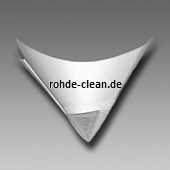 Metex Faltsieb F5000 weiß monofiles Perlon 190µ ungefaltet