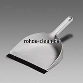 Kehrschaufel Kunststoff mit Lippe und Reinigungskamm 35x22cm